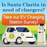 Is Santa Clarita in need of chargers? Take our EV Charging Station Survey!
